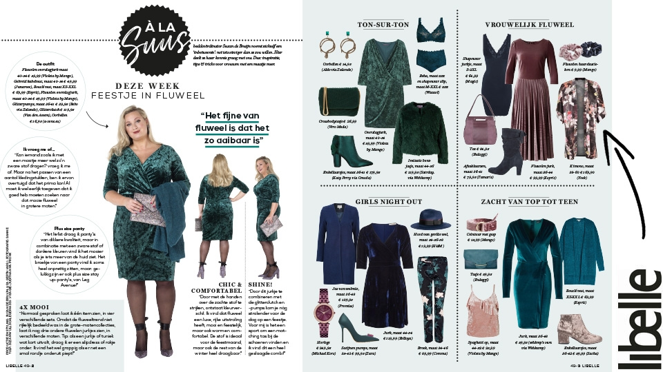 Yoek in Libelle Magazine