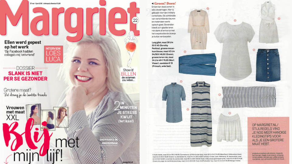 Yoek Plus Size Fashion in Margriet
