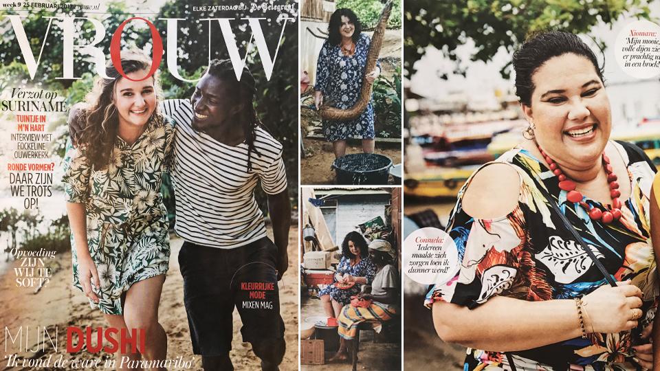 Yoek Plus Size Fashion in Telegraaf Vrouw